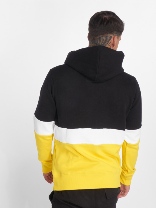 Hechbone Hoody Colorblock zwart
