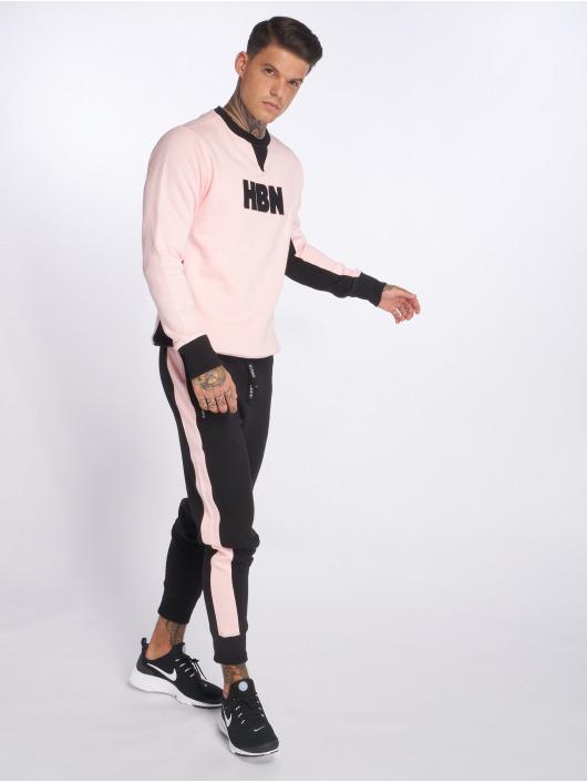 Hechbone Spodnie do joggingu Stripe czarny