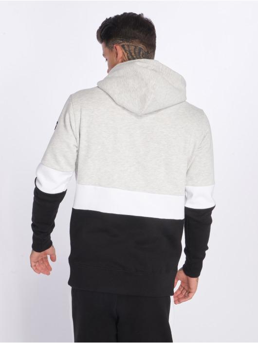 Hechbone Sweat capuche Colorblock gris