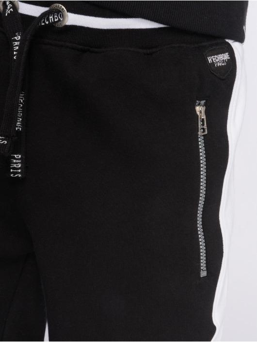 Hechbone Sweat Pant Stripe black