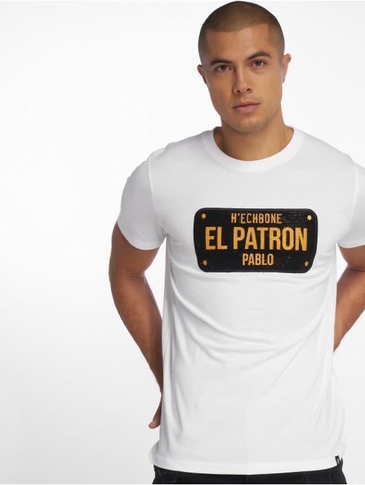 Hechbone Patron shirt T El 561420 Blanc Homme VqSUMpz