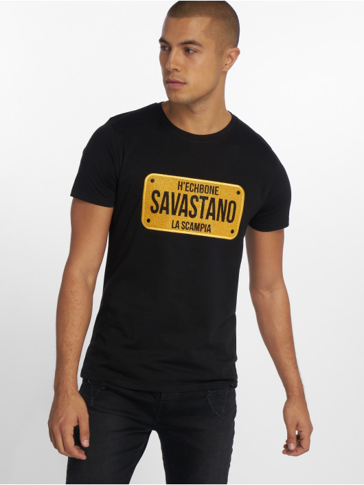 Noir Hechbone Savastano shirt T 561437 Homme txQrCshd