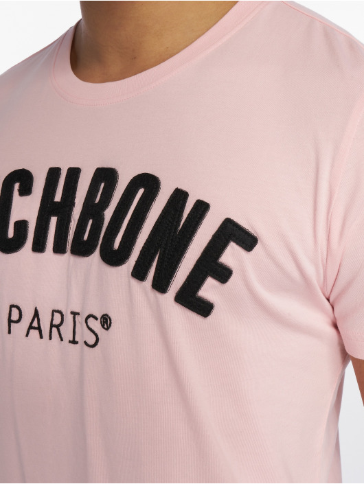 Hechbone T-Shirt Patch rosa