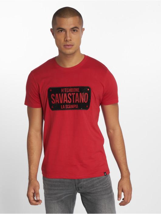 Hechbone T-Shirt Savastano rot
