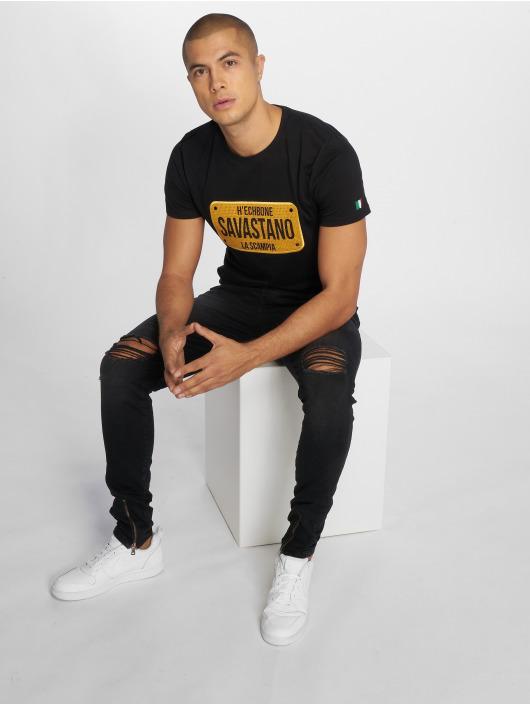 Hechbone T-Shirt Savastano schwarz