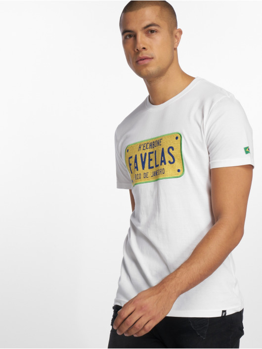 Hechbone T-Shirty Favelas bialy