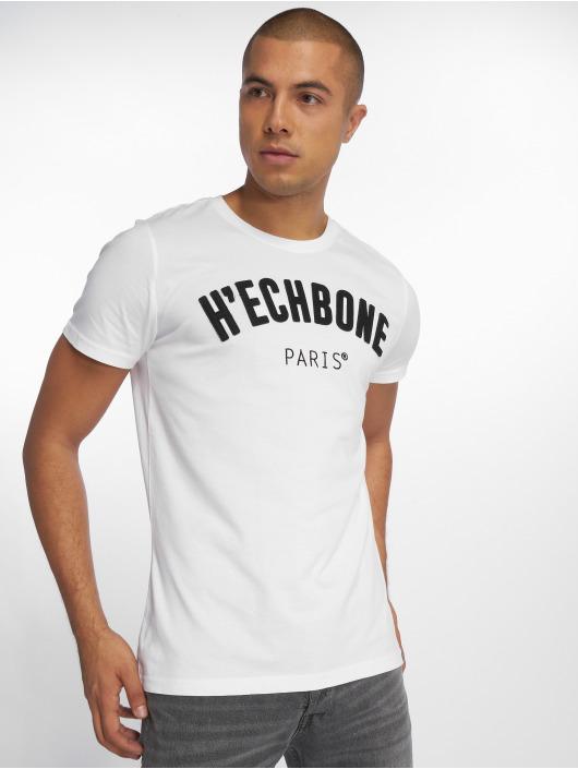 Hechbone Tričká Patch biela