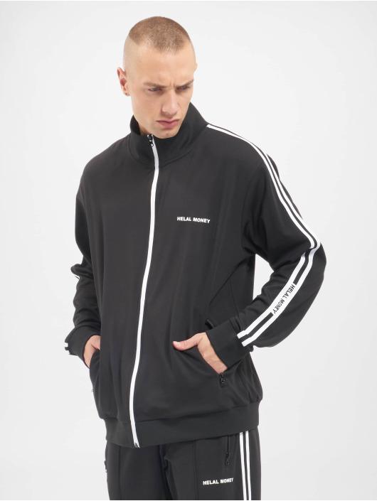 Helal Money Демисезонная куртка Helal Money черный