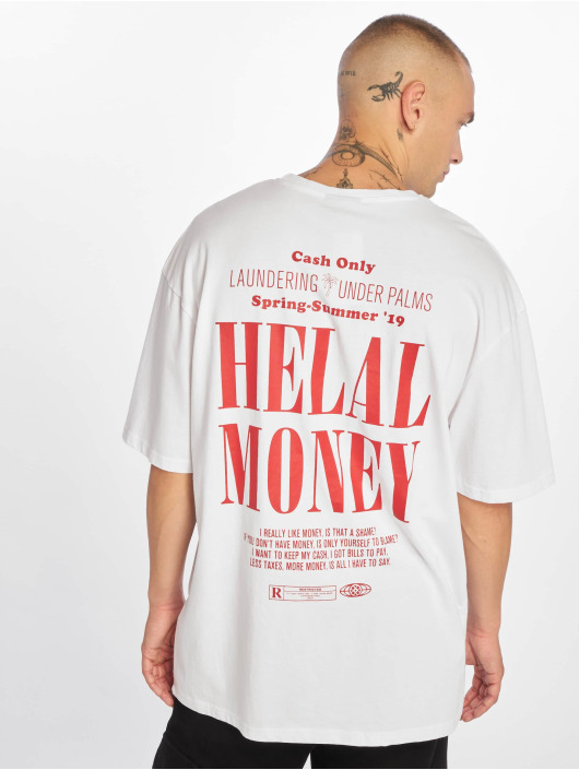 Helal Money Camiseta Cash Only blanco
