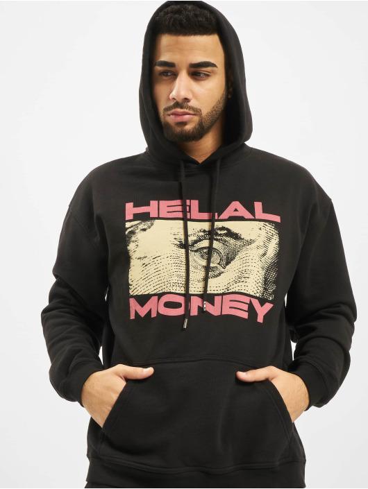 Helal Money Hoodie Franklin svart