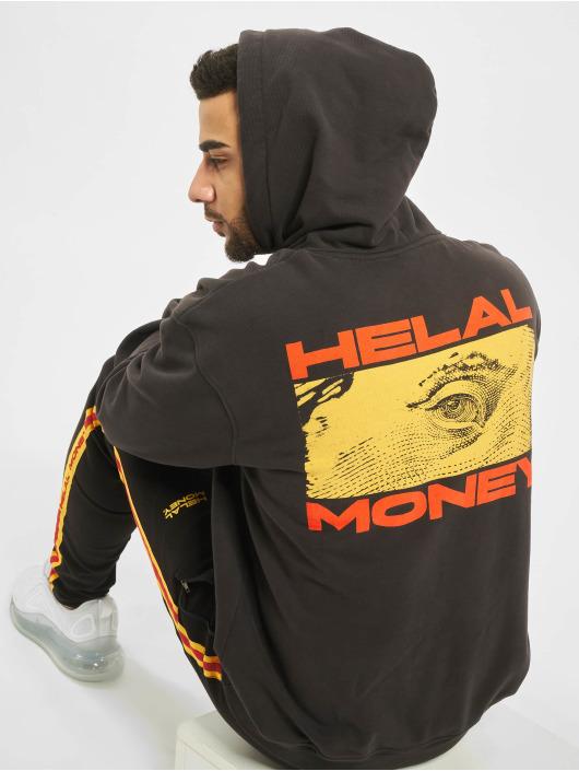 Helal Money Hoody Franklin schwarz