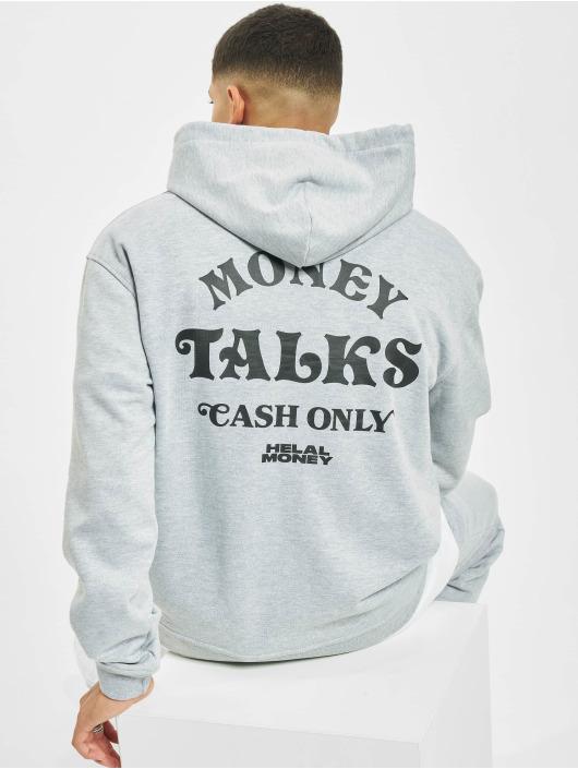Helal Money Mikiny Money Talks šedá