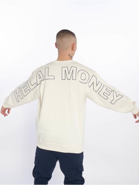 Helal Money Pulóvre Fully Armed biela