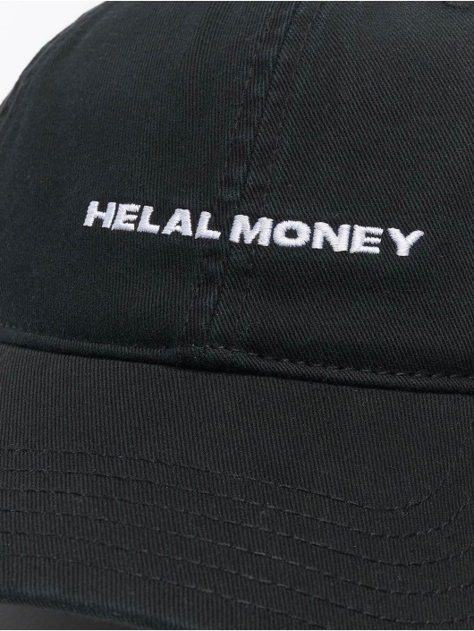Helal Money Snapback Dad Fit èierna