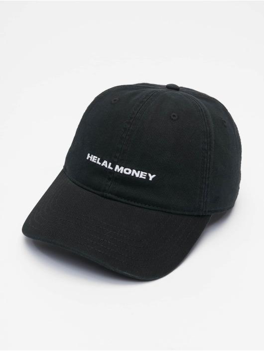 Helal Money Snapback Caps Dad Fit svart