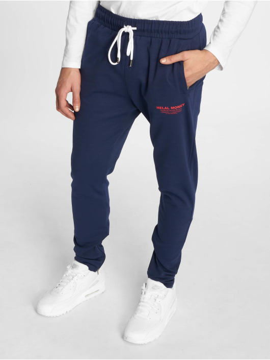 Helal Money Spodnie do joggingu Slack And Slide niebieski