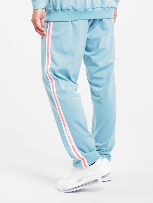 Helal Money Spodnie do joggingu Helal Money niebieski