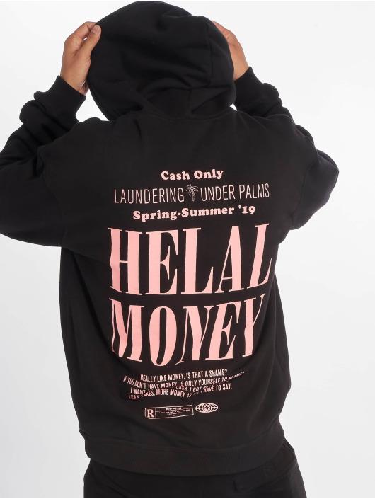 Helal Money Sweat capuche Under Palms noir