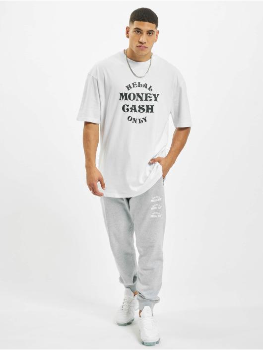 Helal Money T-Shirt Cash Only weiß