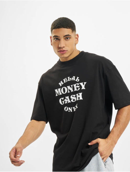 Helal Money T-Shirty Cash Only czarny
