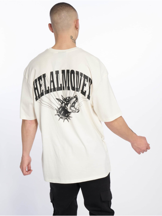Helal Money T-skjorter No Biting Allowed hvit