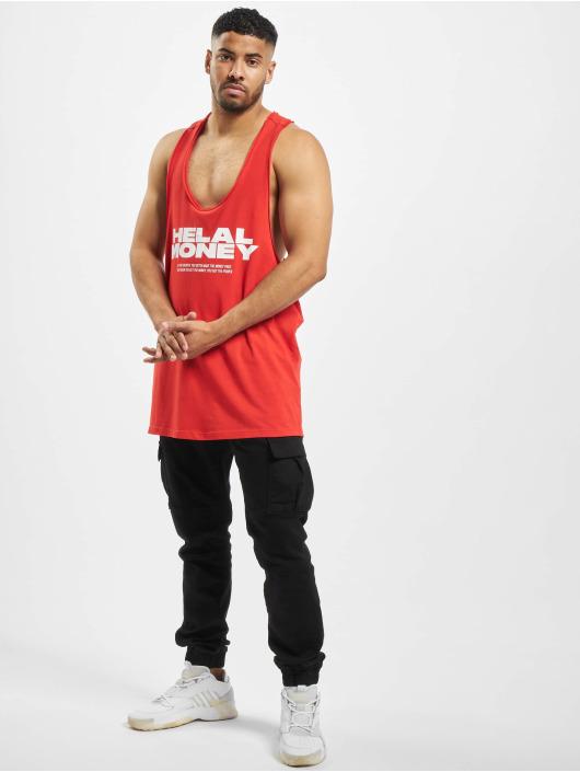 Helal Money Tank Tops Money First èervená