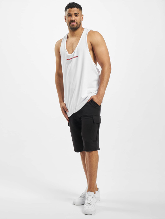 Helal Money Tank Tops HM bialy