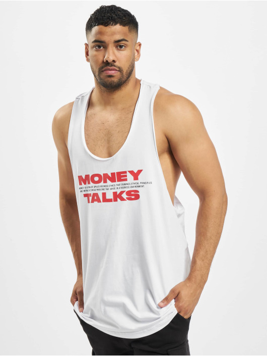 Helal Money Tank Tops Money Talks weiß