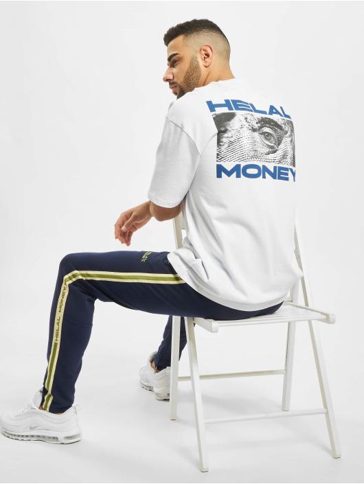 Helal Money Tričká Franklin biela