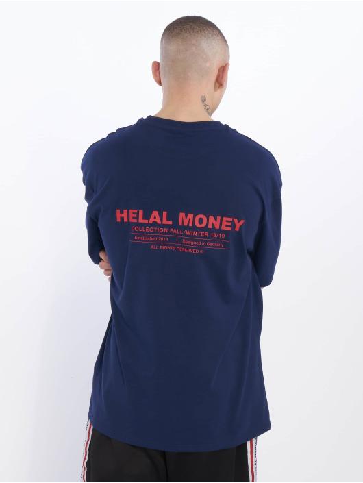 Helal Money Tričká Check The Details modrá