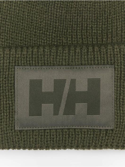 Helly Hansen Čepice Box Beanie zelený