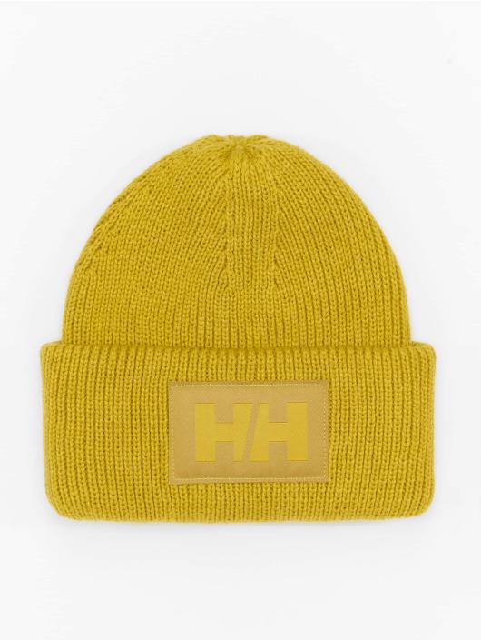 Helly Hansen шляпа Box Beanie желтый