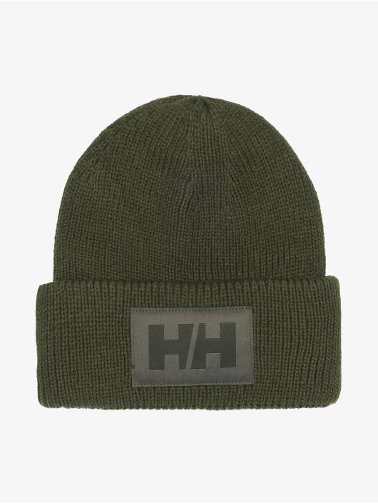 Helly Hansen шляпа Box Beanie зеленый