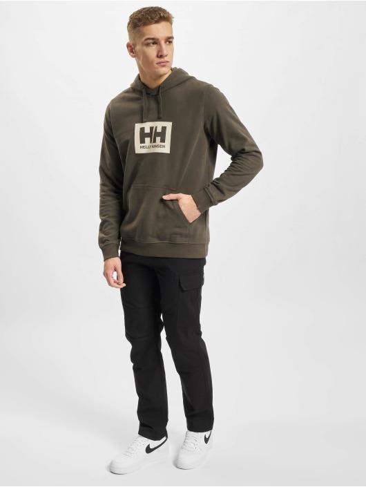 Helly Hansen Felpa con cappuccio Box grigio