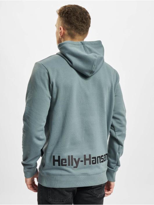 Helly Hansen Felpa con cappuccio YU grigio