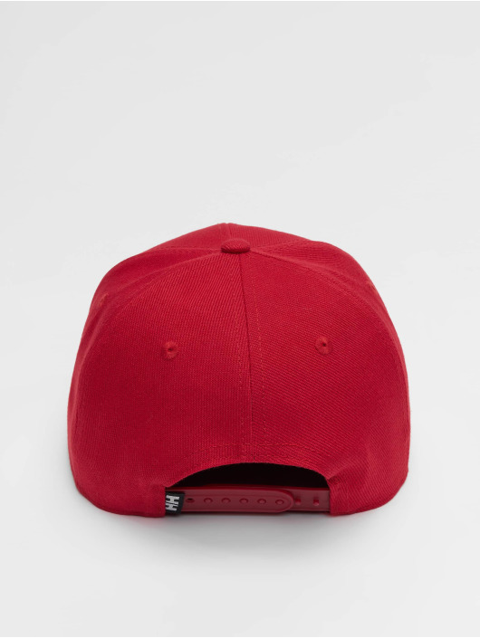 Helly Hansen Snapback Caps HH Brand red