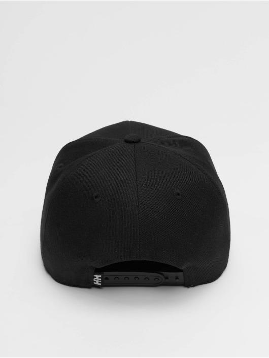 Helly Hansen Snapback Caps HH Brand svart