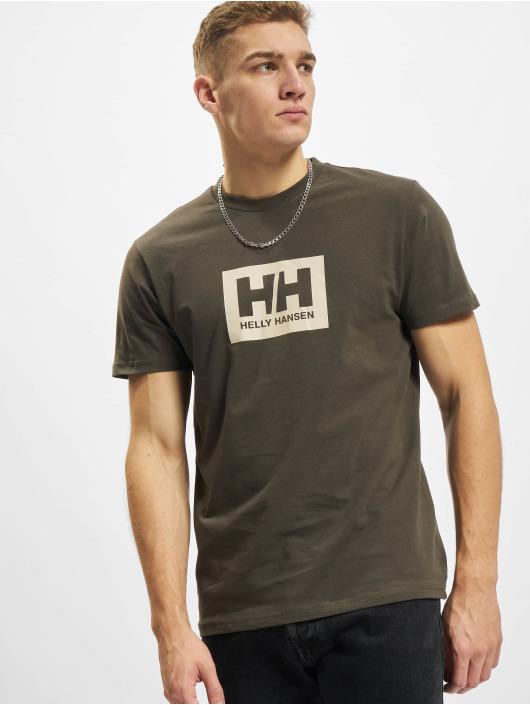 Helly Hansen T-paidat Box harmaa