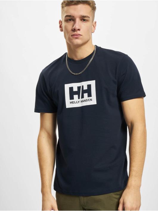 Helly Hansen t-shirt Box blauw