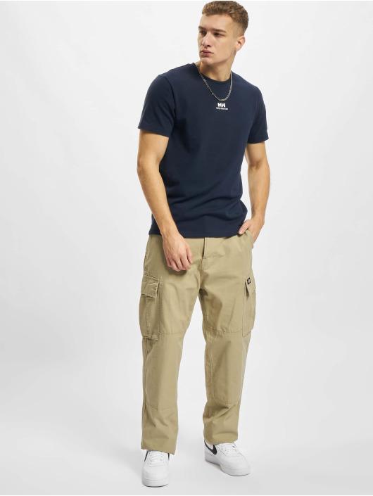 Helly Hansen t-shirt YU Patch blauw