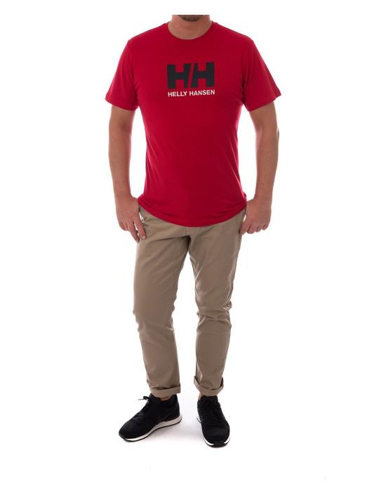Logo Helly Hansen 419590 Homme T shirt Rouge ZR6qw