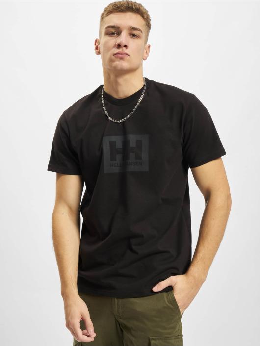 Helly Hansen t-shirt Box zwart