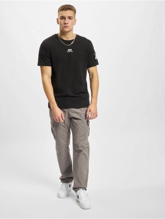 Helly Hansen t-shirt YU Patch zwart