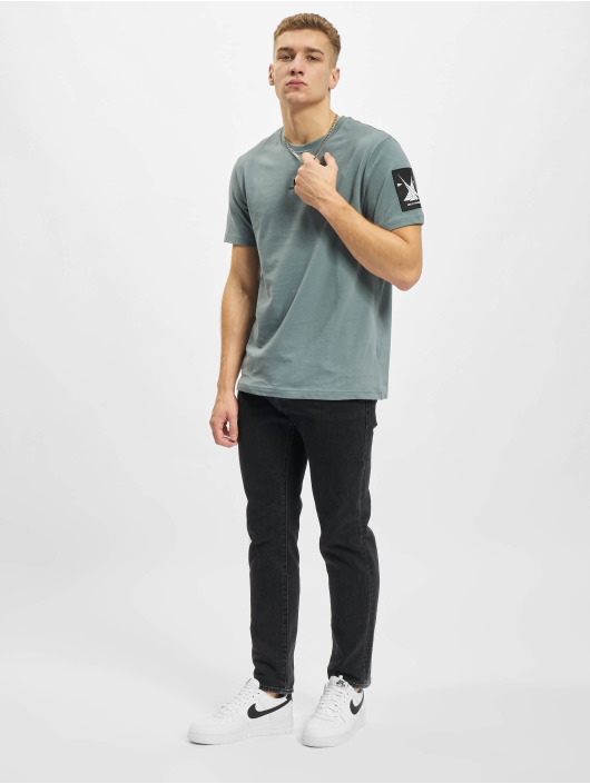 Helly Hansen T-shirts YU Patch grå