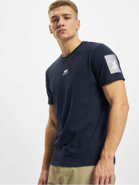 Helly Hansen T-Shirty YU Patch niebieski