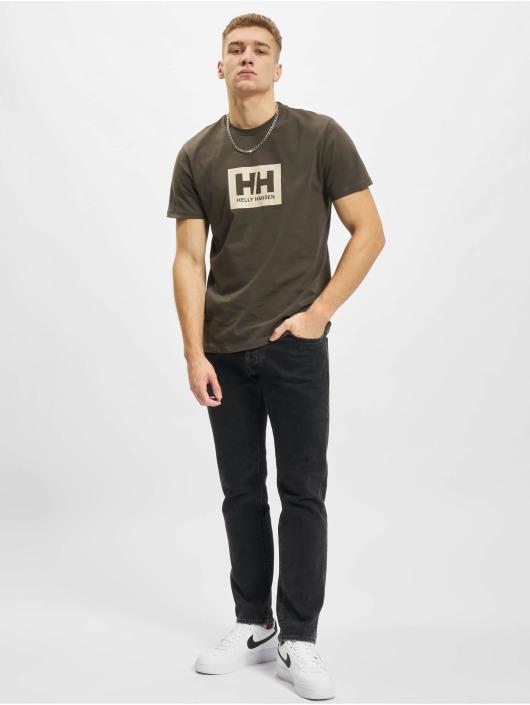 Helly Hansen T-Shirty Box szary