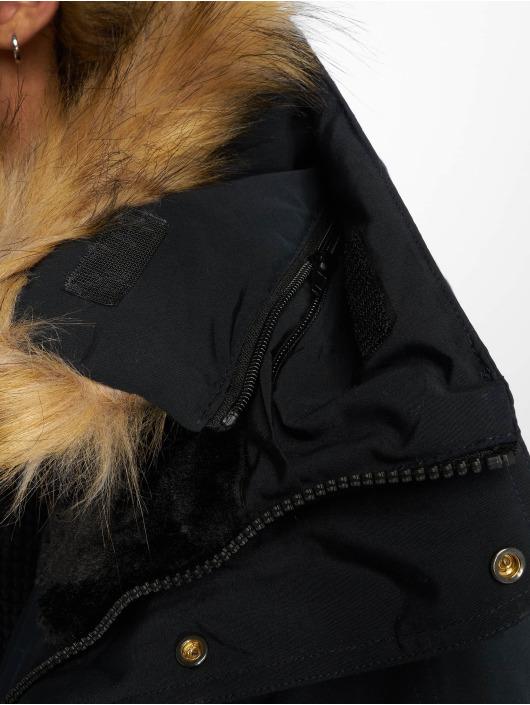 Helvetica Manteau hiver Expedition Raccoon Edition bleu