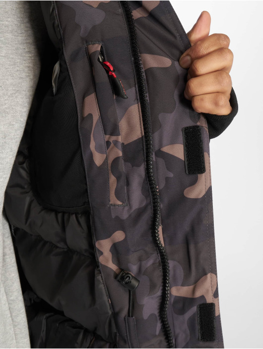 Helvetica Manteau hiver Artic camouflage