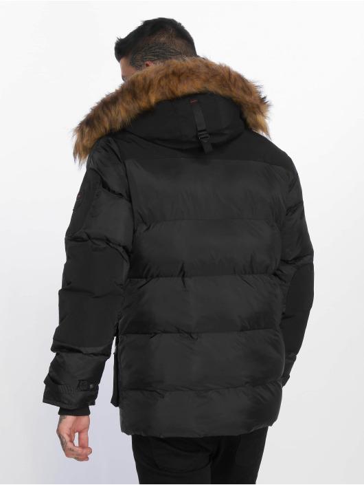 Helvetica Manteau hiver Delta Roccoon Edition noir