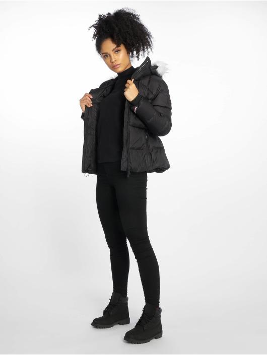 Helvetica Manteau hiver Andes Courte noir